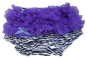 Purple Zebra Bloomers