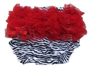 Red Zebra Bloomers