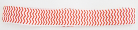 Chevron Orange Elastic Headband