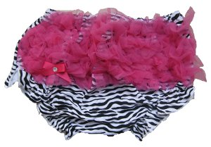 Hot Pink Zebra Bloomers