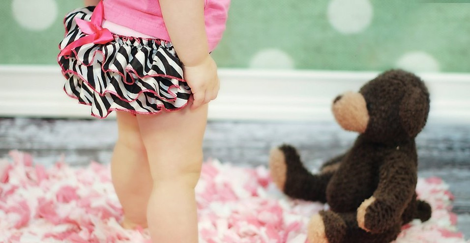 Zebra Satin Bloomers